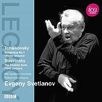 チャイコフスキー:交響曲 第1番「冬の日の幻想」/ストラヴィンスキー:火の鳥(1945年版)