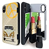 iPhone X/iPhone XS ケース tpu ミラー付き 高級車 外車 車 ドット 土 アイフォンX アイフォンXS アイフォンテンエス アイフォンテン アイフォン10 自動車 かっこいい iPhoneケース