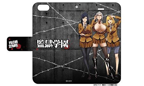手帳型スマホケース iPhone5/5s/SE専用 監獄学園...