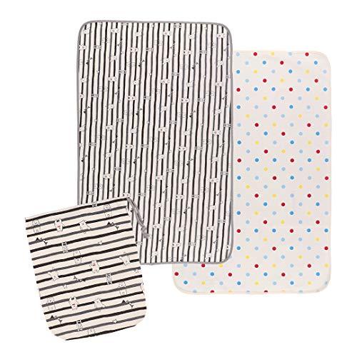 西松屋 巾着付きおむつ替えシート(2枚組)