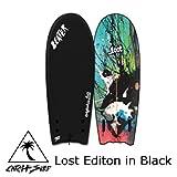[CATCH SURF] BEATER Original54- TwinFin Lost Editon in Black 【キャッチ サーフ】ビーター オリジナル54 ツインフィン (FIN付き)ロストエディション ブラック 正規品 送料無料 (Lost Editon in Black, 54インチ)