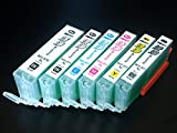 キヤノン BCI-371/370専用 プリンター目詰まり洗浄カートリッジ 6色用セット