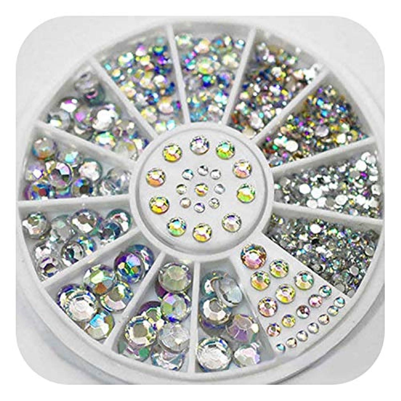 スプーンからに変化する暴行ダイヤモンドのまばゆいばかりのヒントネイルステッカースパンコールカラークリスタルパッチネイルアート,China