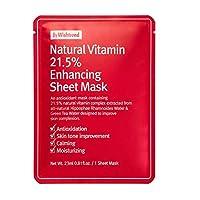 【バイウィッシュトレンド】ナチュラルビタミン21.5エンハンシング シートマスク10枚セット(23mlx10sheet)|韓国コスメ・ビタミンC・ビタミンCシートマスク・シートマスク・トーンアップシートマスク・美白シートマスク|[by wishtrend] Natural Vitamin 21.5 Enhancing Mask 10 sheets (23mlx10sheet)