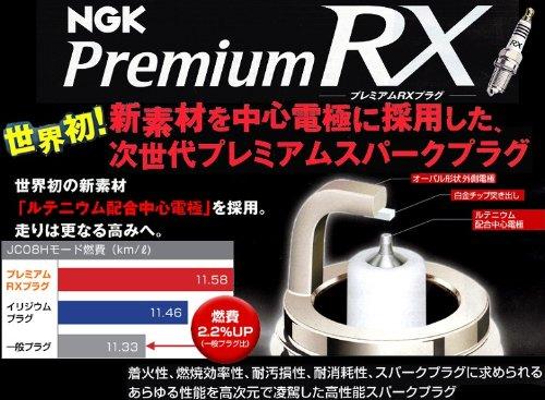 ★NGKプレミアムRXプラグ★シトロエンC5 ブレーク2.0 GF-X4RFNW用 1台分(4本)セット