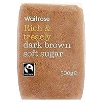 ダークブラウンソフトシュガー500グラム (Waitrose) - Dark Brown Soft Sugar Waitrose 500g