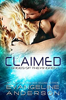 Claimed (Brides of the Kindred book 1): (Alien Warrior BBW Science Fiction Paranormal Romance) by [Anderson, Evangeline]