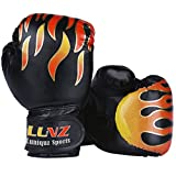 SOEKAVIA ボクシング グローブ 子供 トレーニング 格闘技 空手 ムエタイ 拳ガード 両手セット 軽量 通気性 3色選べる(ブラック)
