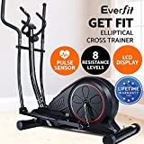 Everfit Exercise Bike Recumbent Elliptical Cross Upright Exercise Spin Bike