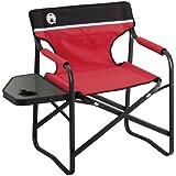 コールマン チェア サイドテーブル付きデッキチェアST レッド 2000017005