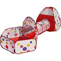 ポータブル幼児子供の遊び場屋内屋外の折り畳み式アクティビティセンター子供子供の遊びペン部屋のフェンスのホーム (色 : Playpen)