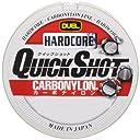 デュエル(DUEL) カーボナイロンライン ハードコア クイックショット 150m 2.5号 10Lbs. チタンゴールド H3348