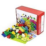 レゴ(LEGO) 互換性 アイデアパーツ ブロック 100ピース&基礎板 セット 基本セット 基本ブロック アイデアボックス ベースプレート 大きい 板 基礎板 【aereo di carta】