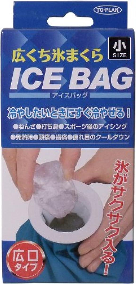 完全に安定した緩やかなICE BAG 広口氷まくら 小サイズ 400cc「4点セット」