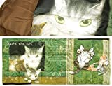 猫のダヤン 3WAYダウンケット トムと3匹の子猫
