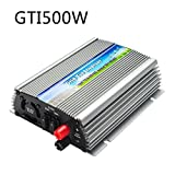 DealMuxの500ワット12VのソーラーパネルのためのMPPTと90-140VACへの純粋な正弦波グリッドタイインバーター電源10.5-30VDC(Vmp18V)