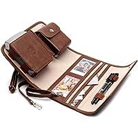 ポータブルフォトプリンタケースfor Fujifilm Instax Share sp-2スマート電話プリンタ、Carry Onバッグ(ブラウン)