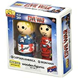 [ビフ ? バフ ? パウ]Bif Bang Pow! Captain America vs Iron Man Pin Mate Set Convention Excl. 24858 [並行輸入品]