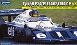 フジミ模型 1/20 グランプリシリーズNo.48 ティレル P34 1977 オーストリアGP #3 ロニー・ピーターソン