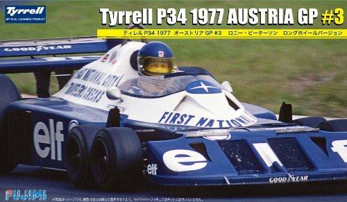 1/20 グランプリシリーズNo.48 ティレル P34 1977 オーストリアGP #3 ロニー・ピーターソン