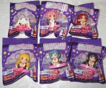 ローソン限定 劇場版 魔法少女まどか☆マギカ ぺたん娘 ミニフィギュア 全6種セット