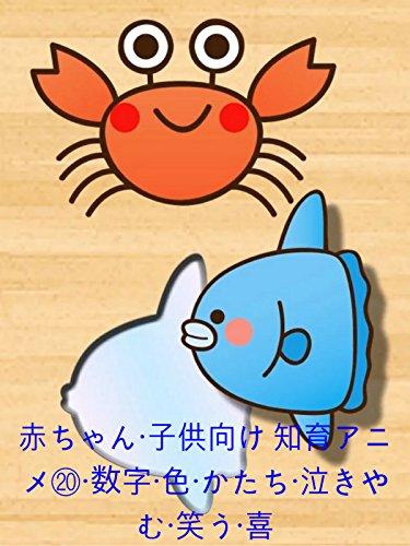赤ちゃん・子供向け 知育アニメ20・数字・色・かたち・泣きやむ・笑う・喜