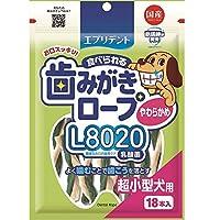 歯みがきL8020やわらかめ超小型犬18本