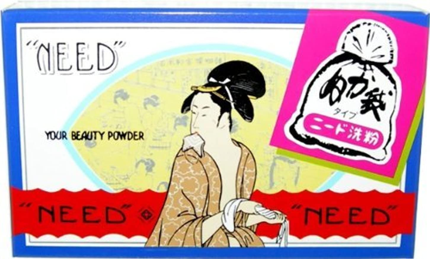堀迫害政治的ニード 布袋入洗い粉 81G × 48個セット