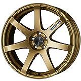 【スバル レガシィ B4(BM9 18インチ装着車)2009~】 ホイール:ENKEI パフォーマンスライン PF07_ゴールド 7.5-18 5/100 タイヤ:FALKEN ZIEX ZE914F 225/45R18 (18インチ アルミホイールセット)
