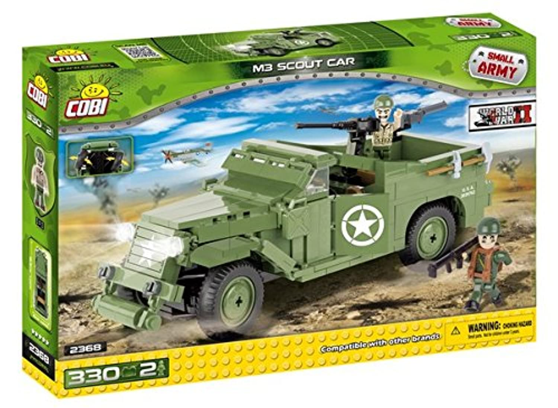 Cobi Small Army ミリタリーブロック WWII #2368 アメリカ軍 M3 スカウトカー M3 Scout Car【COBI 日本正規総代理店】