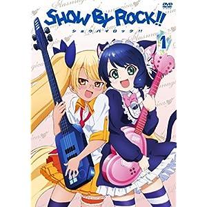 SHOW BY ROCK!! 1(アプリゲーム「SHOW BY ROCK!!」アニメオリジナルURブロマイドDLコード付き)(イベントチケット優先販売申込券付き) [DVD]
