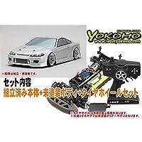ヨコモ ドリフトレーサー+デカールレスボディセット 品番DP-DRG3-S15BS
