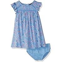 Nautica Baby Girls Short Sleeve Fashion Dress
