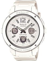 [カシオ] 腕時計 ベビージー BGA-150-7BJF ホワイト