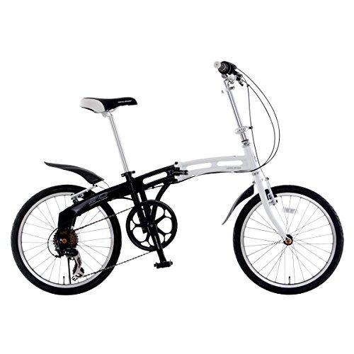 DOPPELGANGER(ドッペルギャンガー) 折りたたみ自転車 BLACKMAXシリーズ CONSTELLATION 210 20インチ パラレルツインチューブフレーム採用モデル