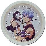 黒子のバスケ 黒子テツヤ&テツヤ2号 壁掛け時計 クロック 直径約25cm 並行輸入品