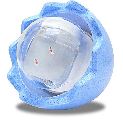 クリオネ水槽ドームくん ライト(約1時間保冷タイプ)【ブルー】