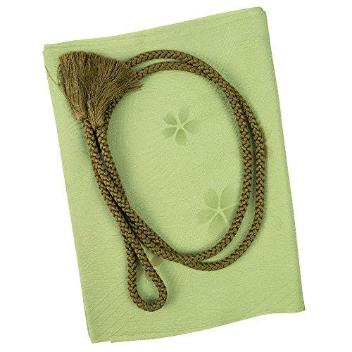 (キョウエツ) KYOETSU 福袋 正絹 帯締め・帯揚げセット 通年 (緑系)