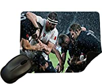 Rugby 002–England battling the New Zealand All Blacksマウスマット/パッド–by Eclipseギフトアイデア