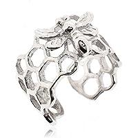 Sovats Ear Cuff Bee Earrings For Women 925 Sterling Silver Rhodium Plated - Simple, Stylish Stud Earrings&Trendy Nickel Free Earring