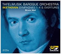 Beethoven Symphonies 1 - 4 & Overtures by Tafelmusik Baroque Orchestra (2014-03-25)