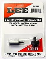 Lee Precision Reloading Large 8–32スレッドカッター&ロックスタッドLee Precision Large 8–32スレッドカッター&ロックスタッド、シルバー、スモール