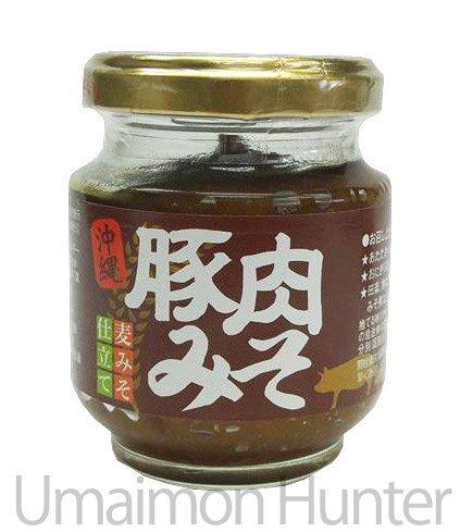 沖縄豚肉味噌 麦みそ仕立て140g×24個 赤マルソウ 沖縄で昔から親しまれてきた定番のご飯のお供の沖縄豚肉みそ 麦みその芳醇な香りが食欲をそそります