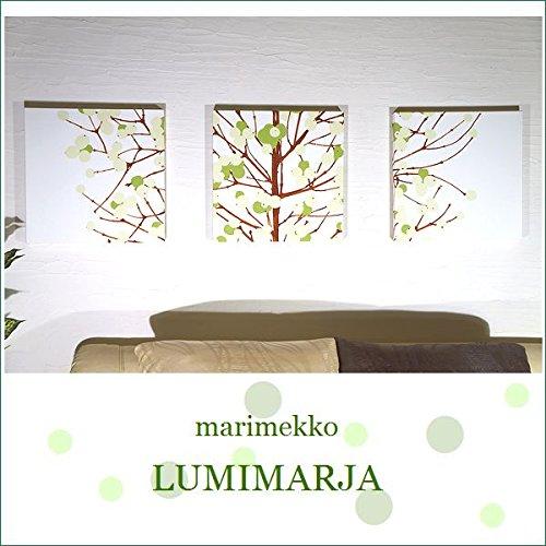 RoomClip商品情報 - ファブリックパネル アリス marimekko LUMIMARJAGREEN 40×40×2.5cm 3枚セット グリーン マリメッコ インテリア 人気 お洒落 おすすめ 北欧 ルミマルヤ LUMIMARJA 同梱可