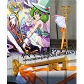 コスプレ道具/小物 劇場版マクロスF ♪ランカ・リー 魔法少女パステル衣装用ステッキ杖