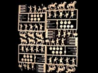 Hat071a Carthaginian Command and Cavalry -- 108 Pieces (8056) (25mm) 25 Mm Toy Figure Action War Military Plastic Model