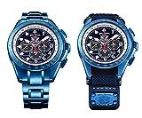 [ケンテックス]KENTEX 防衛省本部契約商品 JSDFシリーズ最高峰モデル ブルーインパルスSP ソーラー 腕時計 メンズ S720M-02
