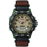 Timex Men's T45181 Year-Round Chronograph Quartz Brown Watch