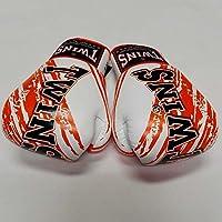 新品 正規 TWINS 本格ボクシンググローブ TWINS白オレンジ