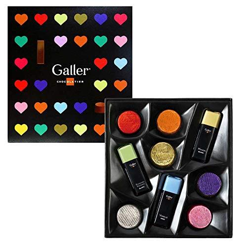 【 Galler ( ガレー ) ベルギー王室御用達 チョコレート 】 プラリネ アソート 9個入り